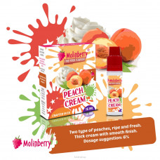 Molinberry M-Line Peach Cream Flavour Concentrate