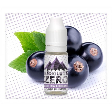 Cool Blackcurrant Flavour Concentrate by Absolute Zero