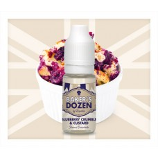 Blueberry Crumble & Custard Flavour Concentrate by Baker's Dozen
