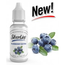 Blueberry Extra Flavour Concentrate by Capella - Silver Line