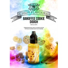 Banoffee Cookie Dough Flavour Concentrate by Chefs Flavours