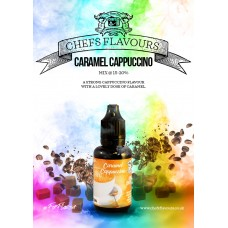 Caramel Cappuccino Flavour Concentrate by Chefs Flavours