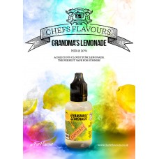 Grandma's Lemonade Flavour Concentrate by Chefs Flavours