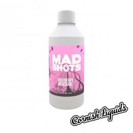 Raspberry Milkshake Mad Shot by Cornish Liquids - 250ml