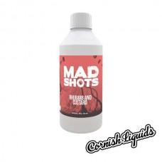Rhubarb and Custard Mad Shot by Cornish Liquids - 250ml