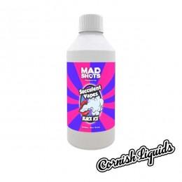 Succulent Vapes Black Ice Mad Shot by Cornish Liquids - 250ml