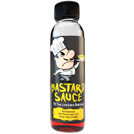 Bastard Sauce 120ml DIY E Liquid Kit - The Custard Bastard