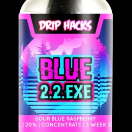 Blue 2.2 .exe Hack Shot by Drip Hacks - 250ml