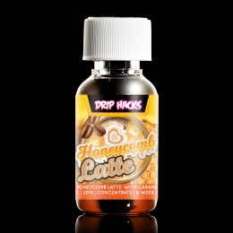 Honeycomb Latte Flavour Concentrate by Drip Hacks