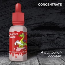 Unicorn Blood Dripping Range Flavour Concentrate by Eco Vape