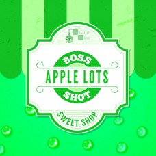 Apple Lots Boss Shot by Flavour Boss - 250ml