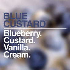 Blue Custard Boss Shot by Flavour Boss - 250ml