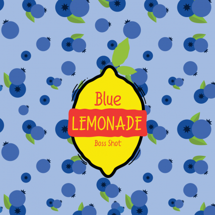 Blue Lemonade Boss Shot by Flavour Boss - 250ml
