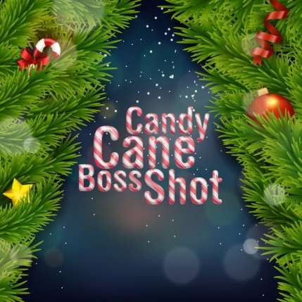 Candy Cane Boss Shot by Flavour Boss - 250ml