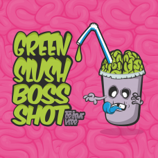 Green Slush Boss Shot by Flavour Boss - 250ml