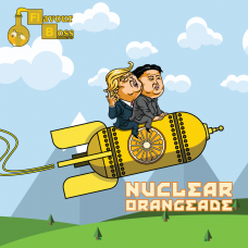 Nuclear Orangeade Boss Shot by Flavour Boss - 250ml