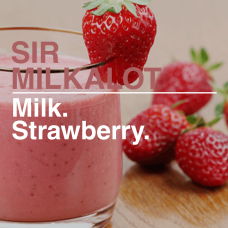 Sir Milkalot Boss Shot by Flavour Boss - 250ml