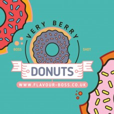Very Berry Donuts Boss Shot by Flavour Boss - 250ml