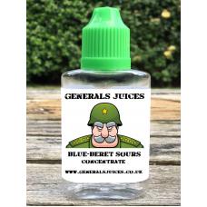 Blue-Beret Sours Flavour Concentrate by Generals Juices
