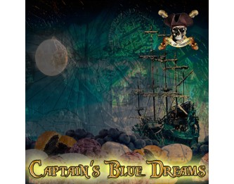 Captain's Blue Dreams Flavour Concentrate by Isle of Custard