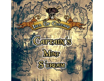 Captain's Mint S'cream Flavour Concentrate by Isle of Custard