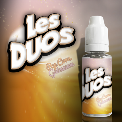 Popcorn Guimauve Flavour Concentrate by Les Duos