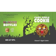 Cara-Apple Cookie Monster Shot by Monster Flavours - 250ml