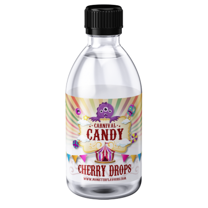 Cherry Drops Monster Shot by Monster Flavours - 250ml