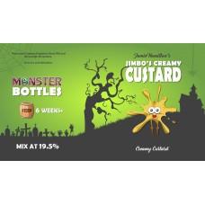 Jimbo's Creamy Custard Monster Shot by Monster Flavours - 250ml