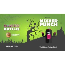 Mixxed Punch Monster Shot by Monster Flavours - 250ml