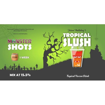 Tropical Slush Monster Shot by Monster Flavours - 250ml