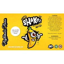 Nightmare Nana Flavour Shot by Monster Shakez - 250ml