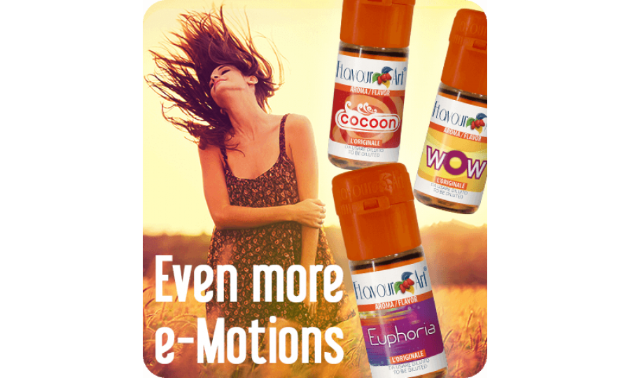 Guide to Mixing with e-Motions Flavour Concentrates by FlavourArt