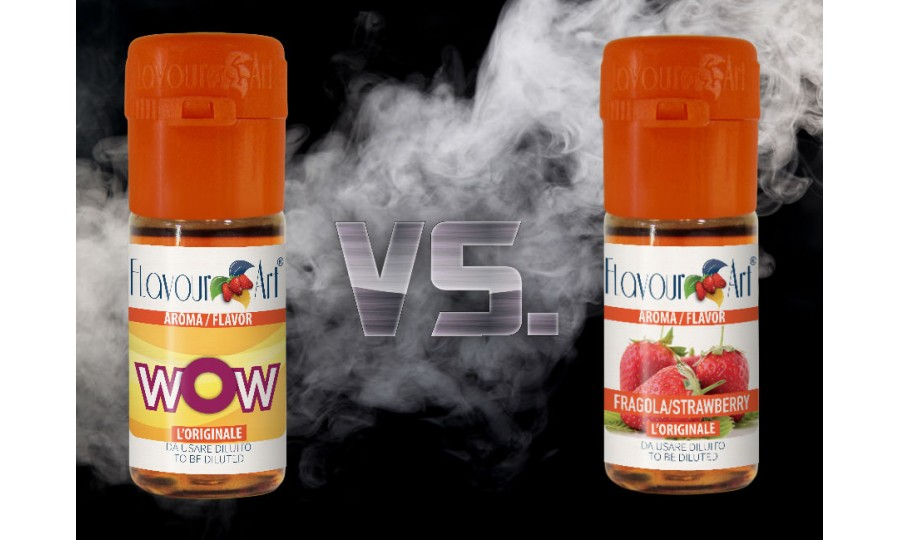One Shot vs. Basic DIY Flavour Concentrates
