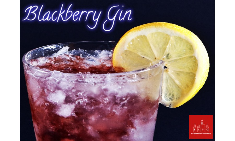 Blackberry Gin DIY E Liquid Recipe