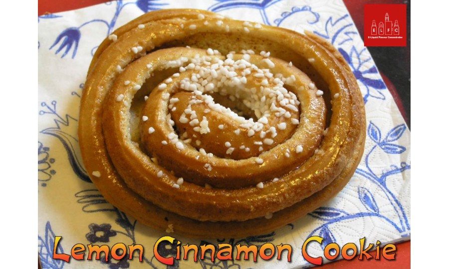 Lemon Cinnamon Cookie DIY E Liquid Recipe