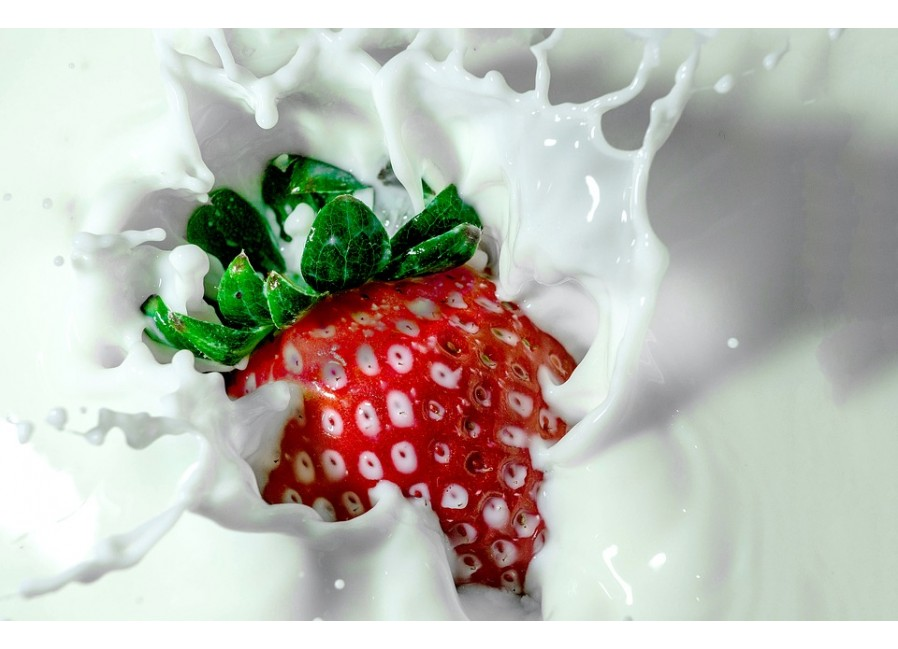 Strawberry Milk DIY E Liquid Recipe