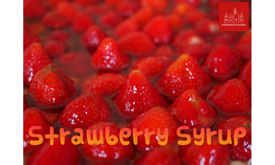 Strawberry Syrup DIY E Liquid Recipe