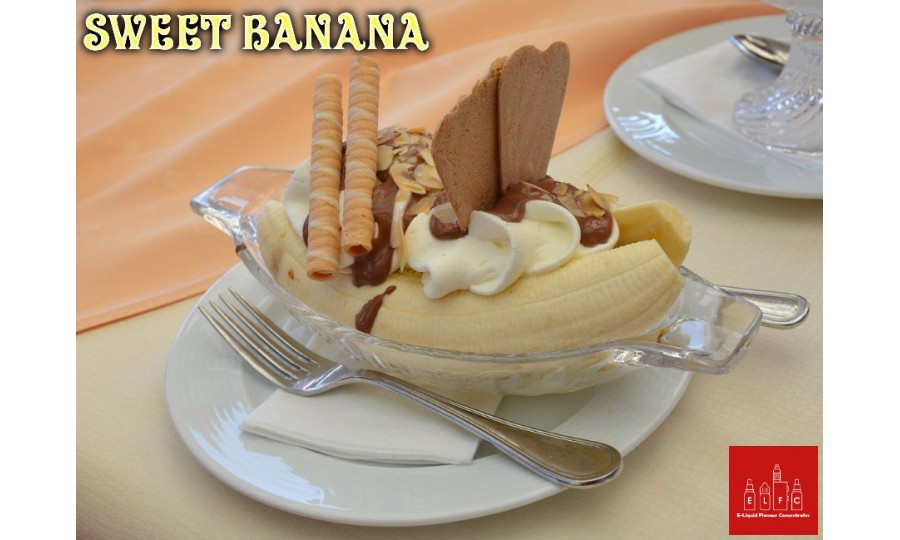 Sweet Banana DIY E Liquid Recipe