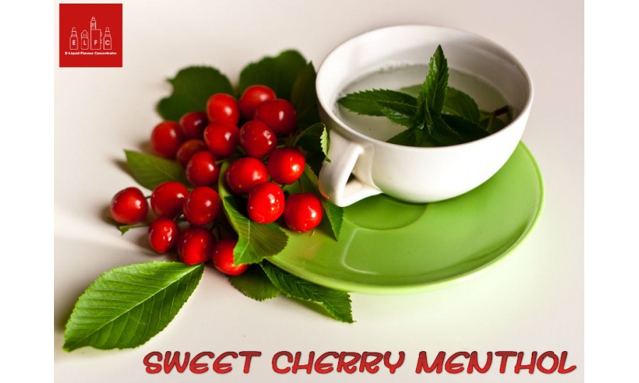 Sweet Cherry Menthol DIY E Liquid Recipe