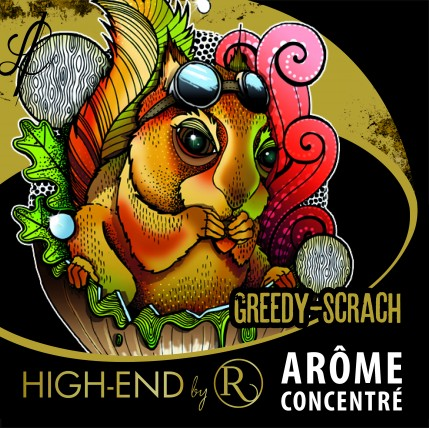 Greedy Scrach High-End Flavour Concentrate by Revolute DIY