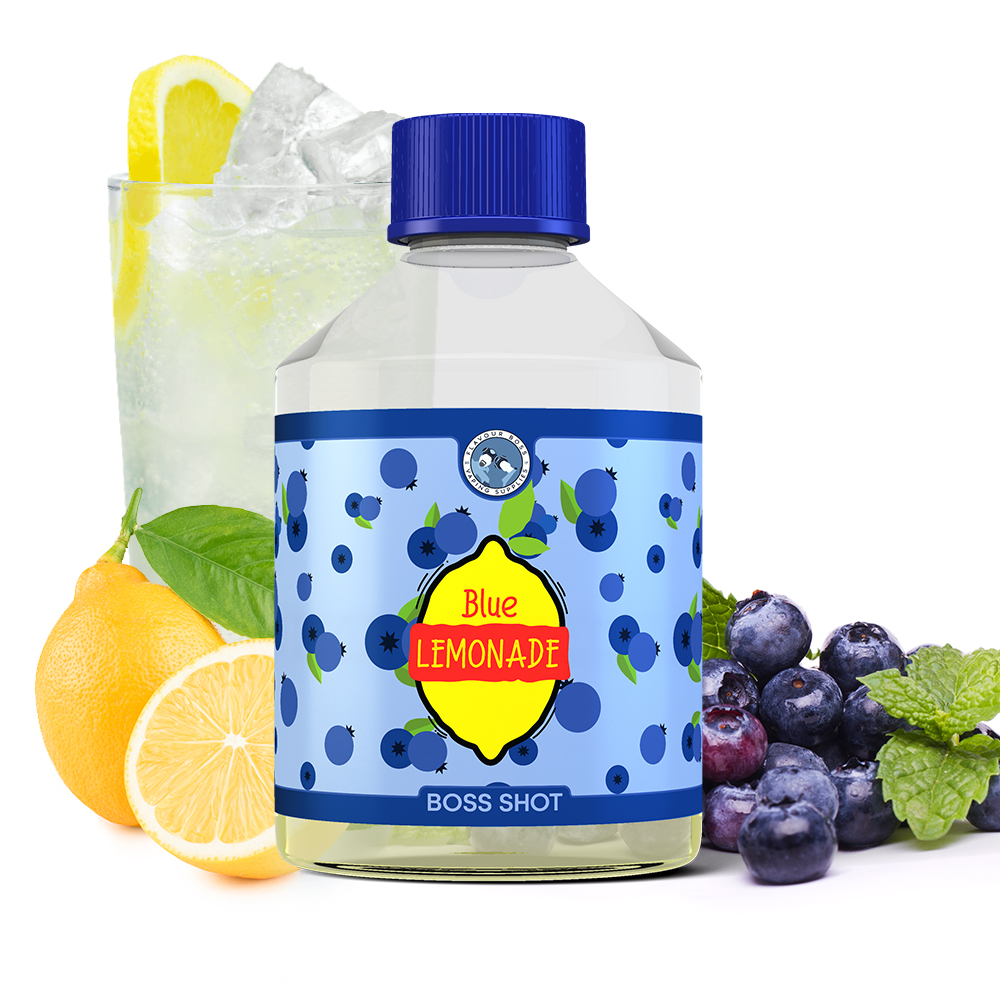Blue Lemonade Boss Shot by Flavour Boss - 250ml