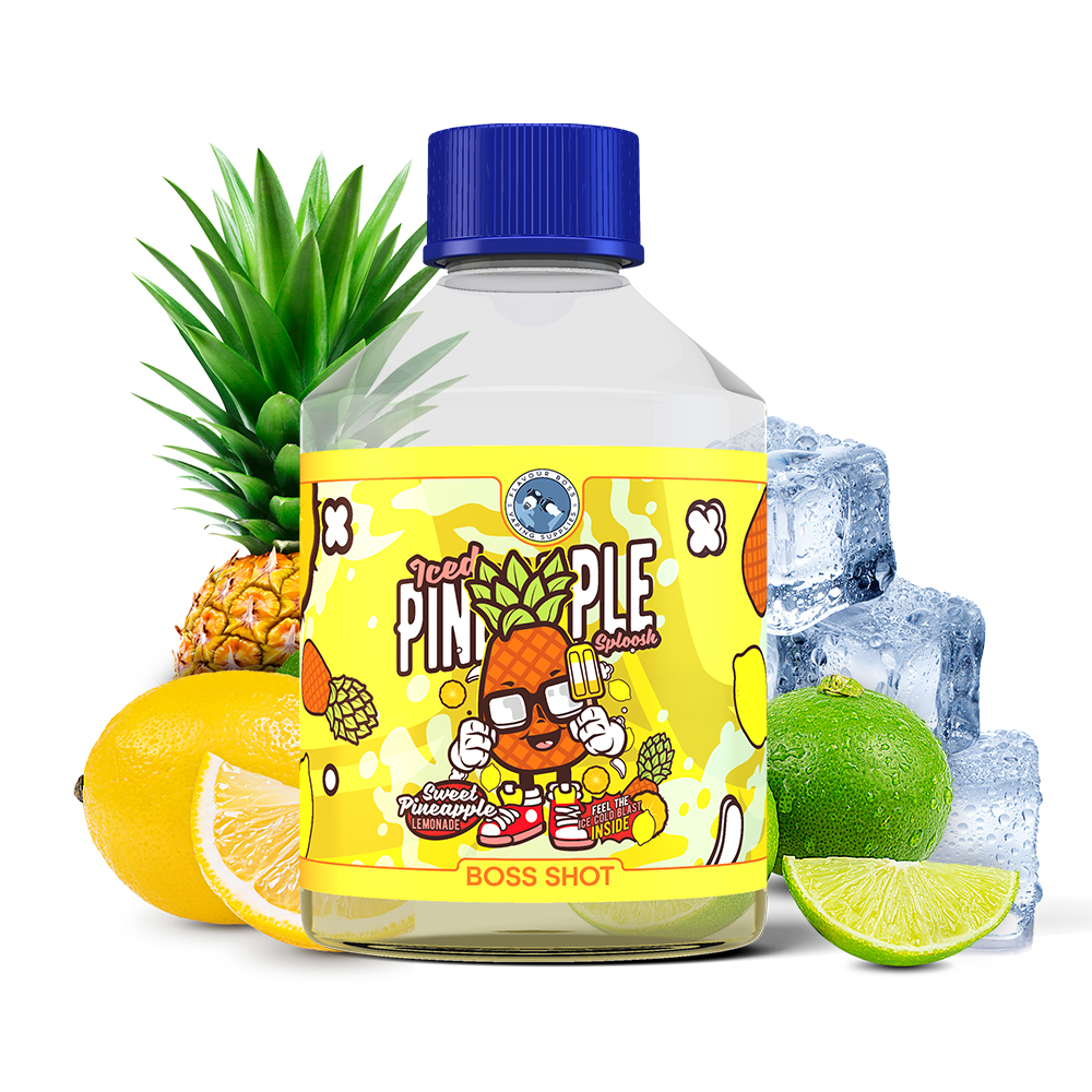 Pineapple Sploosh Boss Shot by Flavour Boss - 250ml