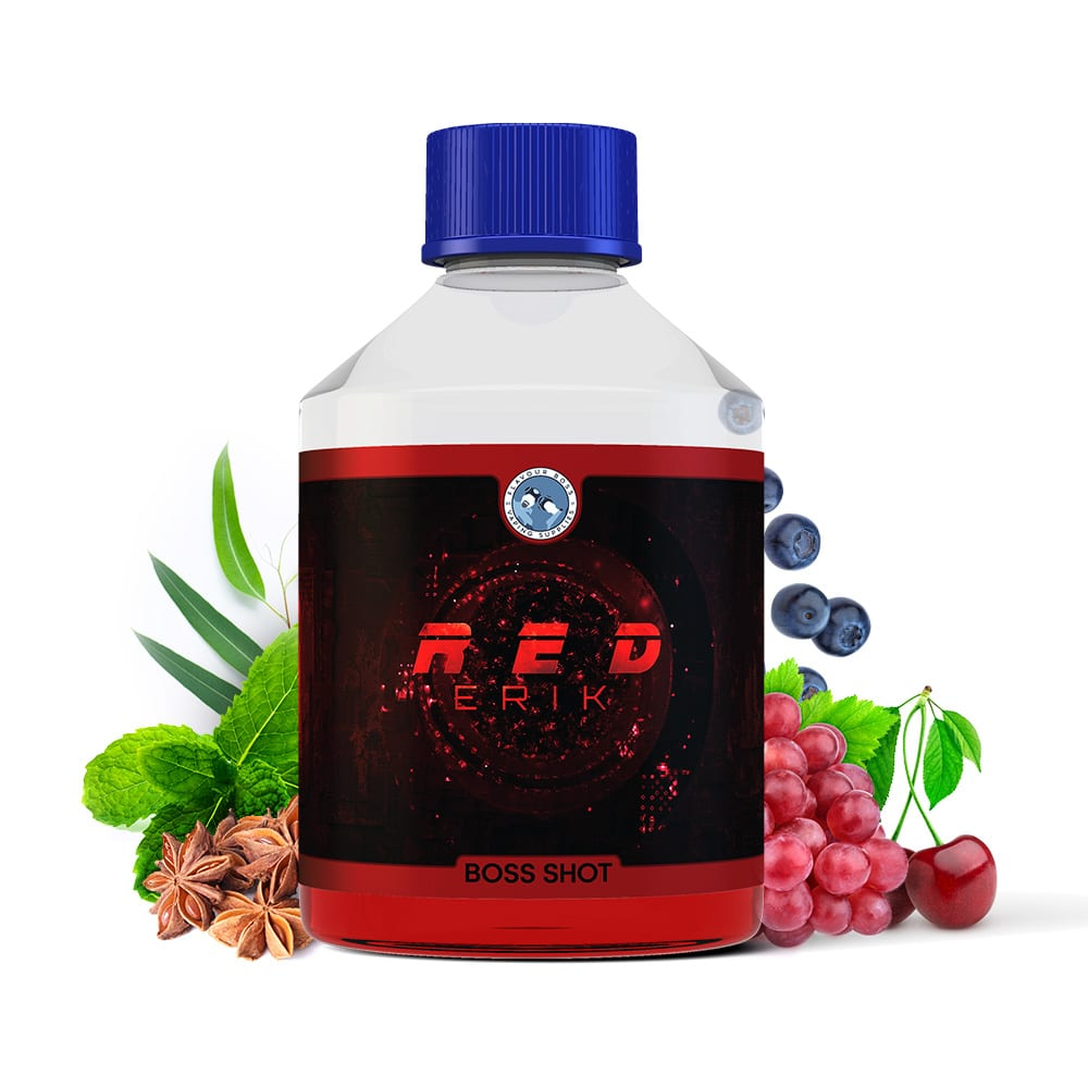 Red Erik Boss Shot by Flavour Boss - 250ml