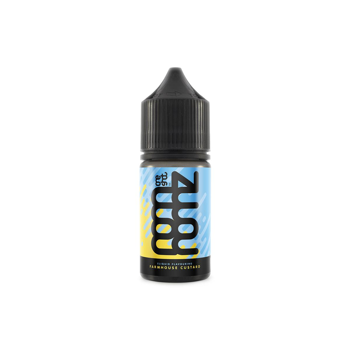 Farmhouse Custard Flavour Concentrate by Nom Nomz E Liquid