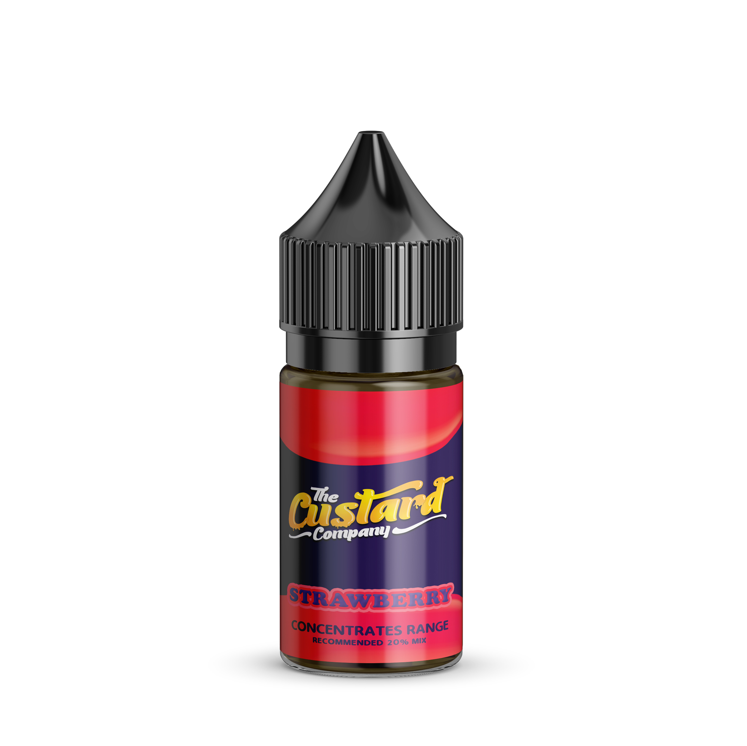 Strawberry Custard Flavour Concentrate by The Custard Company