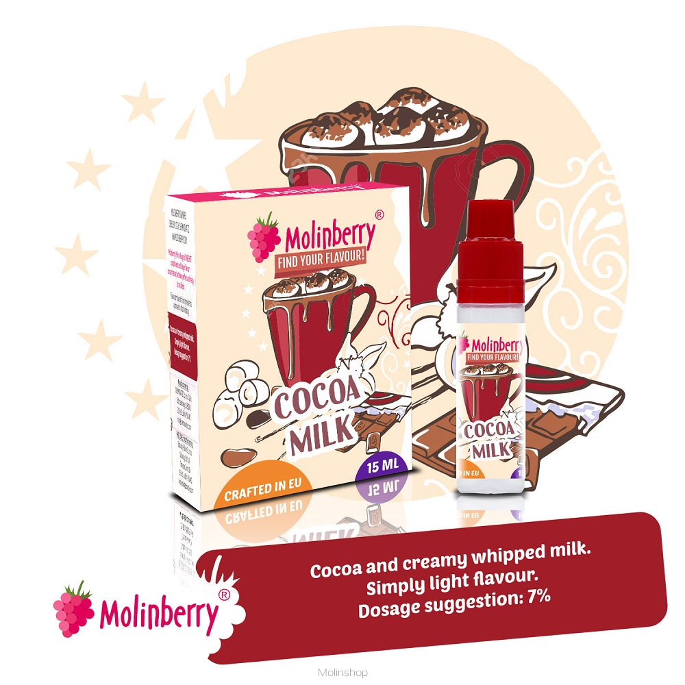 Molinberry M-Line Cocoa Milk Flavour Concentrate