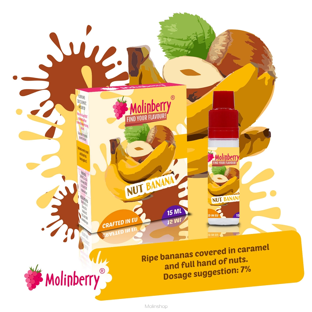 Molinberry M-Line Nut Banana Flavour Concentrate
