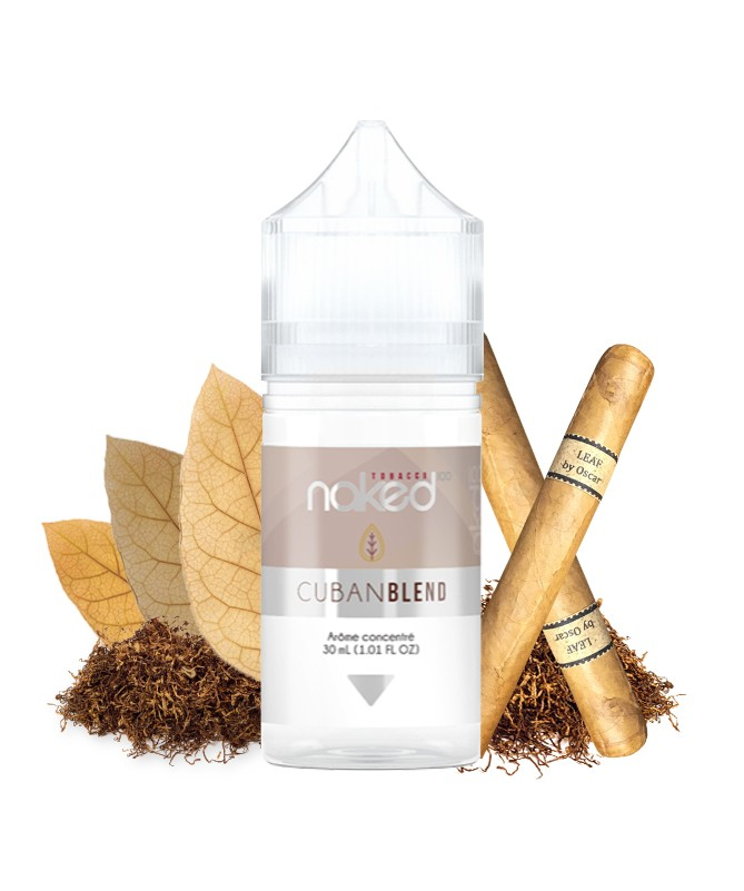 Cuban Blend Flavour Concentrate by Naked 100