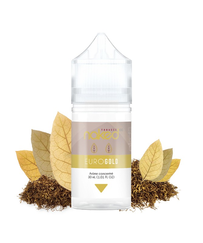 Euro Gold Flavour Concentrate by Naked 100